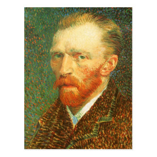 Self Portrait by Vincent van Gogh Postcard