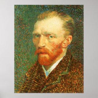 Self Portrait by Vincent van Gogh Poster