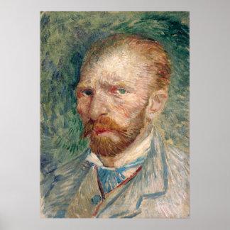 Self-Portrait by Vincent Van Gogh Poster