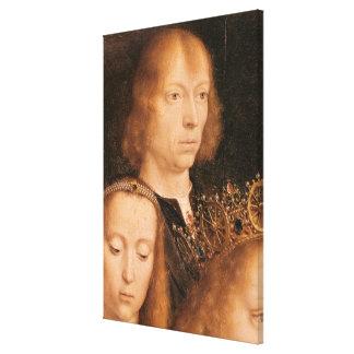 Self Portrait, c.1509 Canvas Print