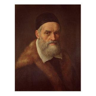 Self Portrait, c.1562-92 Postcard