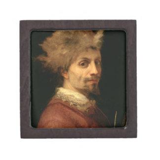Self Portrait, c.1606 (oil on canvas) Keepsake Box