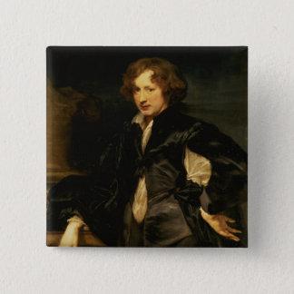 Self portrait, c.1620-21 button