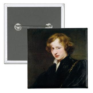Self Portrait, c.1622 Pinback Button