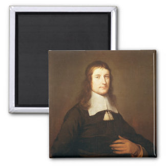Self Portrait, c.1625 2 Inch Square Magnet