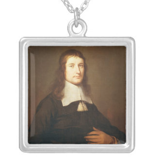 Self Portrait, c.1625 Silver Plated Necklace