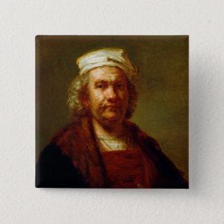 Self Portrait, c.1660-63 Pinback Button