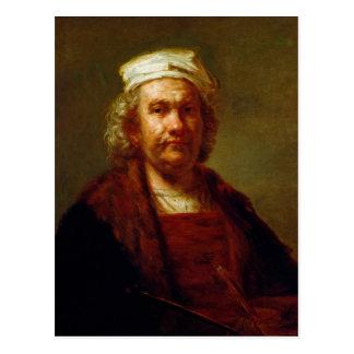 Self Portrait, c.1660-63 Postcard