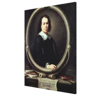 Self portrait, c.1670-73 canvas print