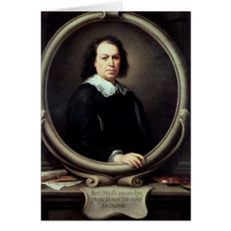 Self portrait, c.1670-73 card