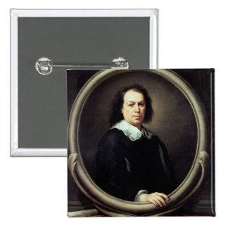 Self portrait, c.1670-73 pinback button