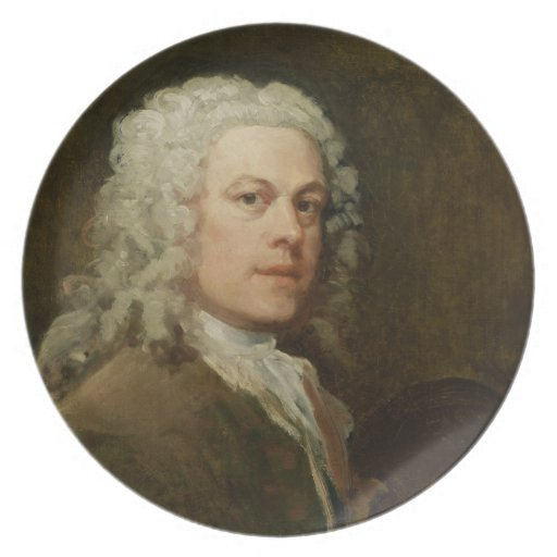 Self Portrait, c.1735-40 (oil on canvas) Plate