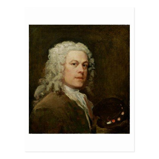 Self Portrait, c.1735-40 (oil on canvas) Postcard