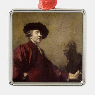 Self portrait, c.1779-80 metal ornament