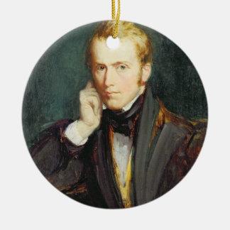 Self Portrait, c.1827-37 (oil on panel) Ceramic Ornament