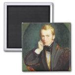 Self Portrait, c.1827-37 (oil on panel) Fridge Magnets