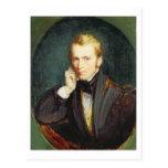 Self Portrait, c.1827-37 (oil on panel) Postcard