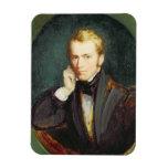 Self Portrait, c.1827-37 (oil on panel) Flexible Magnet