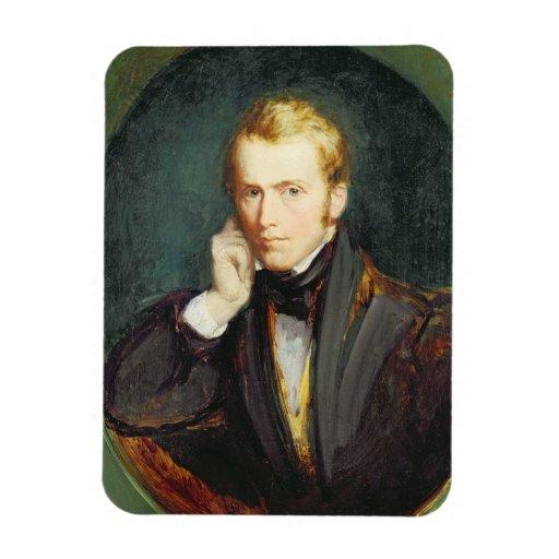 Self Portrait, c.1827-37 (oil on panel) Rectangular Photo Magnet