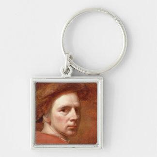 Self Portrait, c.1830s (oil on canvas) Keychain