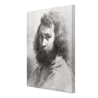 Self Portrait, c.1845-46 Canvas Print