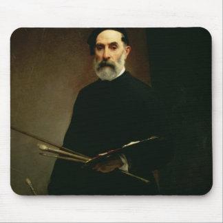 Self Portrait, c.1860-62 (oil on canvas) Mouse Pad