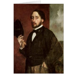 Self portrait, c.1862 greeting cards