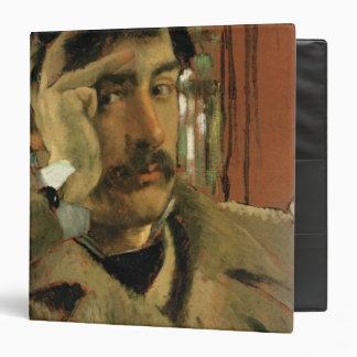 Self portrait, c.1865 3 ring binder