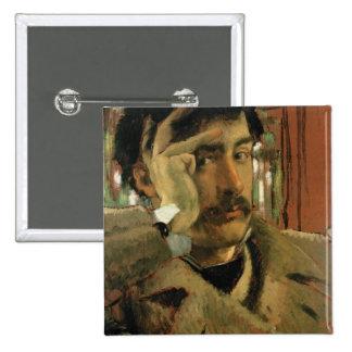 Self portrait, c.1865 pinback buttons