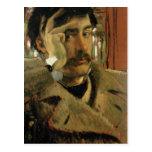 Self portrait, c.1865 post card