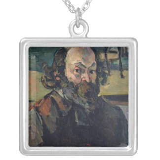 Self Portrait, c.1873-76 Silver Plated Necklace