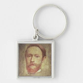 Self Portrait, c.1889 Keychain