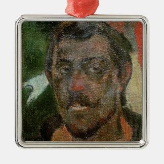 Self Portrait, c.1890-93 Metal Ornament