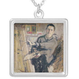 Self Portrait, c.1907-08 Silver Plated Necklace