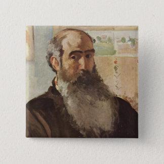 Self portrait - Camille Pissarro Button