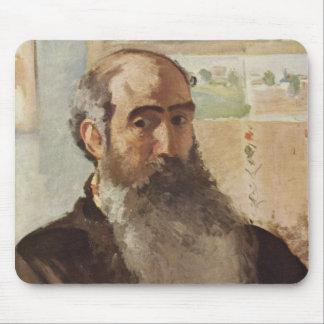Self portrait - Camille Pissarro Mouse Pad