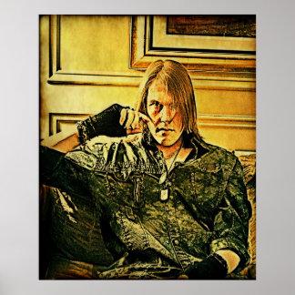 Self Portrait (citizen soldier) Poster