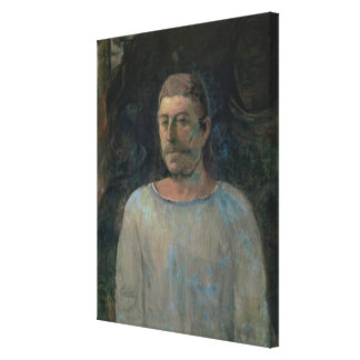 Self portrait, close to Golgotha, 1896 (oil on can Canvas Print