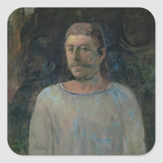 Self portrait close to Golgotha 1896 oil on can Stickers