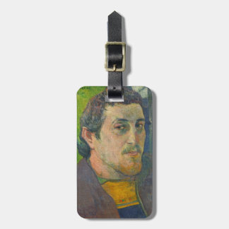 Self Portrait dedicated to Carriere, 1888-1889 Bag Tag