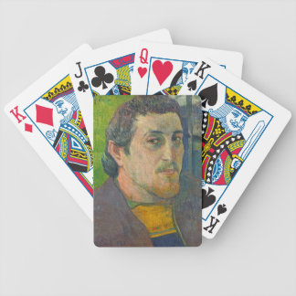 Self Portrait dedicated to Carriere, 1888-1889 Bicycle Playing Cards