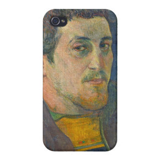 Self Portrait dedicated to Carriere, 1888-1889 Case For iPhone 4