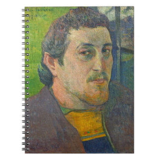 Self Portrait dedicated to Carriere, 1888-1889 Notebook