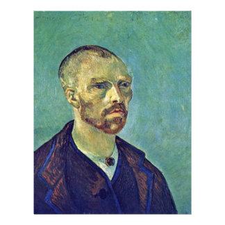 Self-Portrait Dedicated To Paul Gauguin)  By Vince Flyer