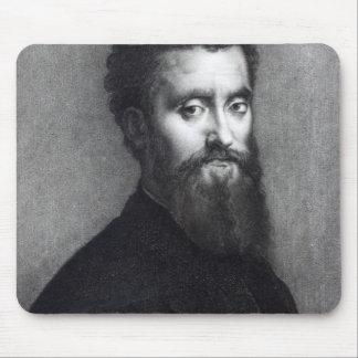 Self Portrait, engraved by Jean-Louis Potrelle Mouse Pad