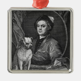 Self Portrait, engraved by T. Cook, 1809 Metal Ornament