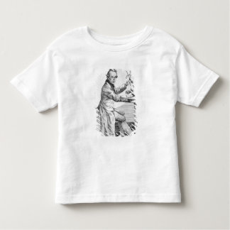 Self Portrait holding callipers over a mask Toddler T-shirt
