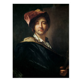 Self Portrait in a Turban, 1700 Postcard