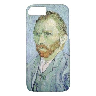 Self Portrait in Blue by Vincent van Gogh iPhone 8/7 Case