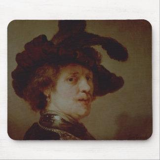Self Portrait in Fancy Dress, 1635-36 Mouse Pad